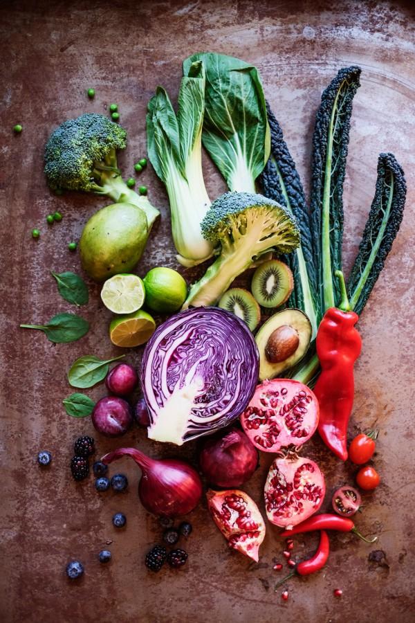 Stilleben grönsaker