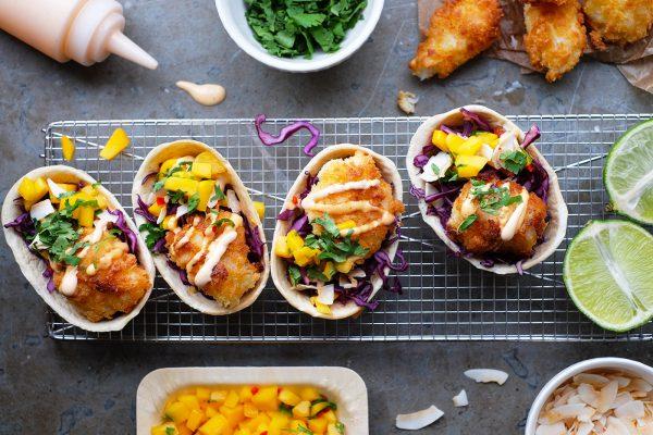 Fish tacos – Old el Paso
