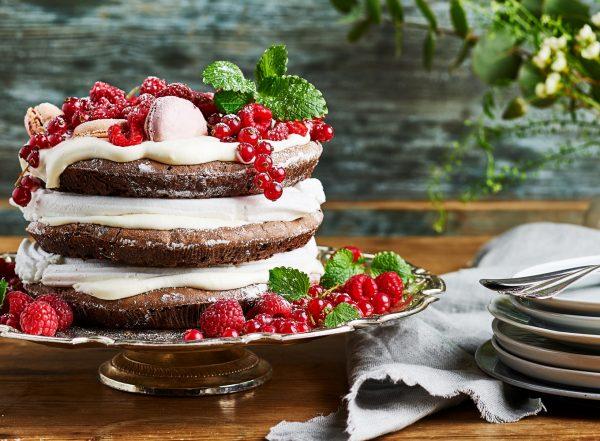 Frödinge Kladdkaka Tårta